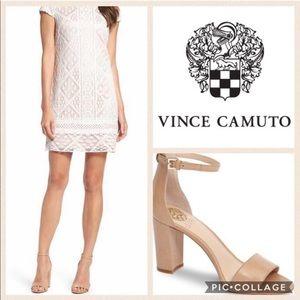Vince Camuto Corlina Nude Sandals